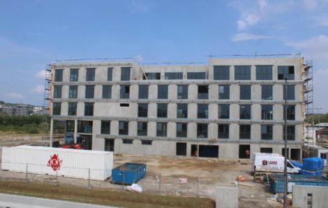 News of the construction of the Sénalia headquarters