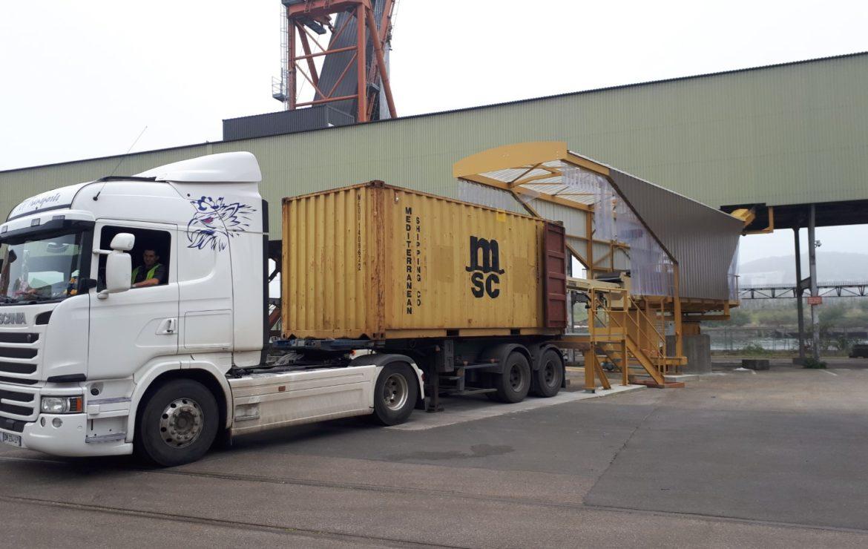 Un 2ème poste de chargement containers à Rouen chez Robust